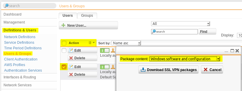 Sophos vpn client